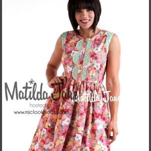 Matilda Jane Leah Dress NWT Size Large